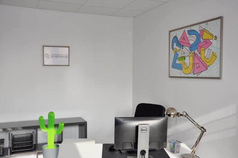 L'un des bureaux à Orléans