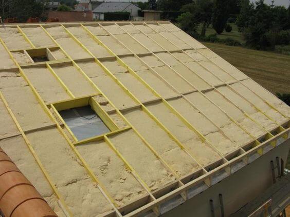 Isolation de toiture par l'extérieur