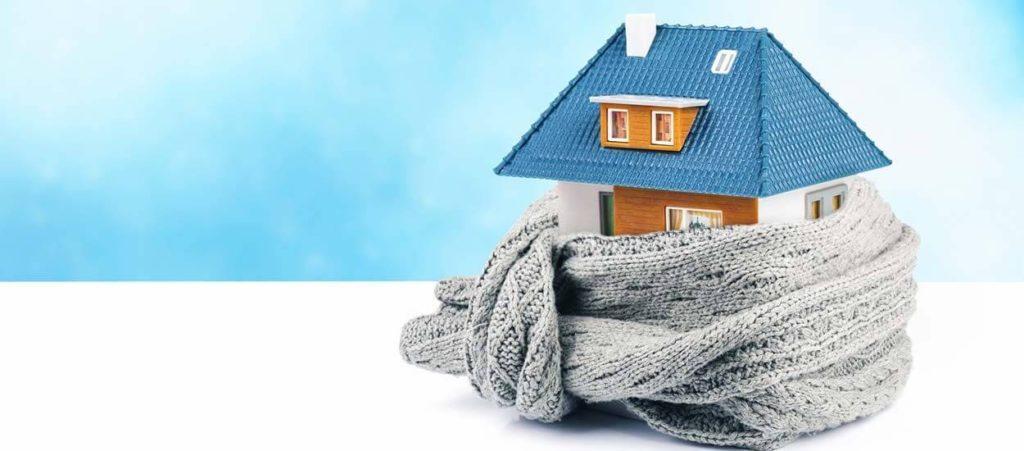 Maison préservée de l'hiver