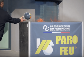 balle extincteur automatique paro feu