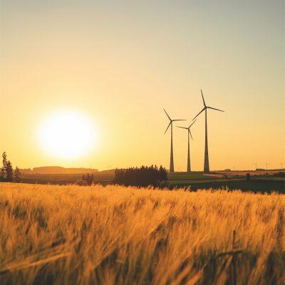 éoliennes illustrant la rénovation énergétique
