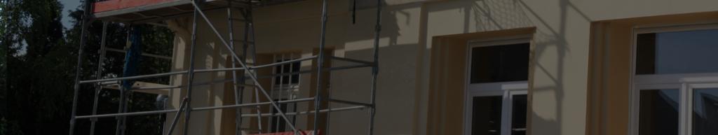 bandeau illustrant le ravalement de façade et l'ITE