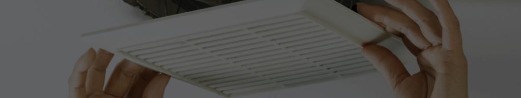 Bouche d'aération de VMC simple flux