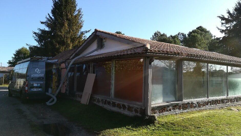 Isolation des combles par soufflage en rénovation à Bordeaux