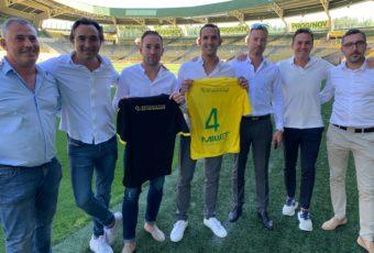 La direction de Préservation du Patrimoine présente le nouveau maillot du FC Nantes