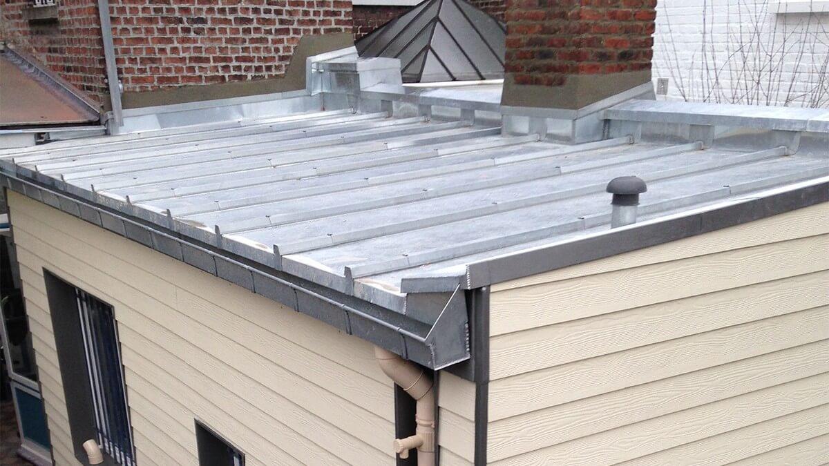 Forme de toiture plate
