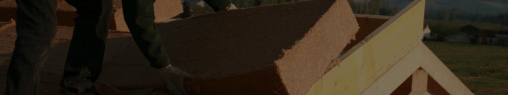 Illustration d'une isolation de toiture pae Sarking