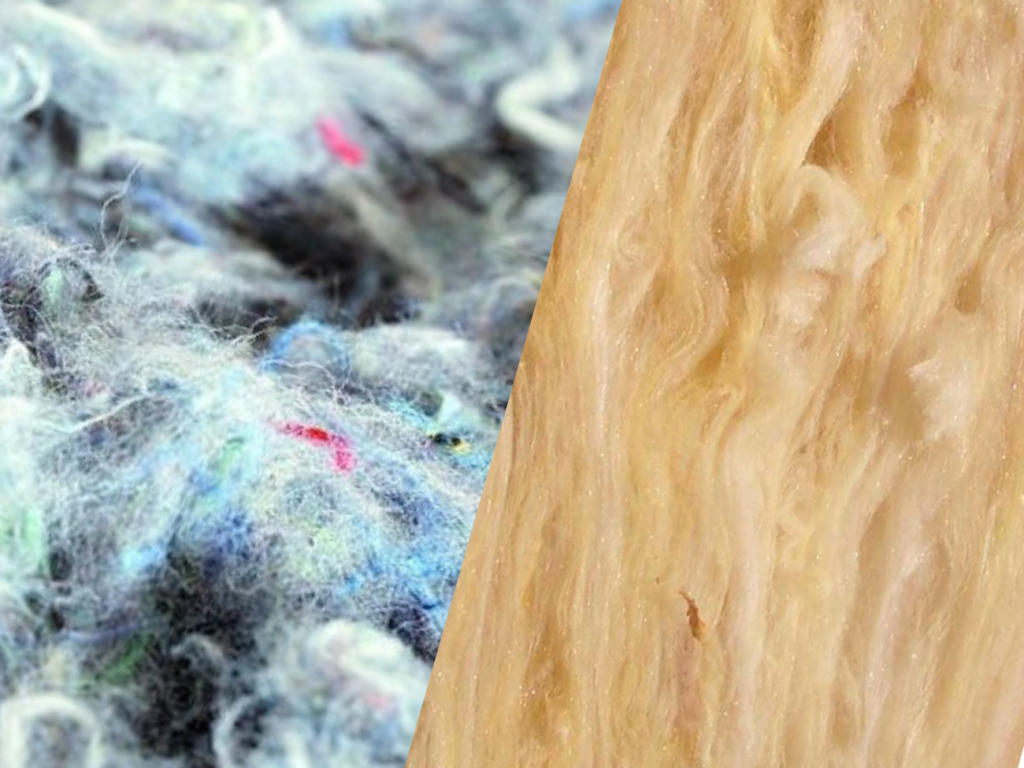 Isolant minéral en laine de coton