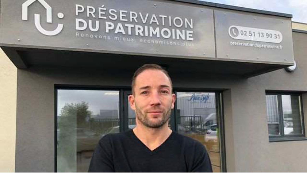 Michaël Brochard, Directeur commercial de Préservation du Patrimoine
