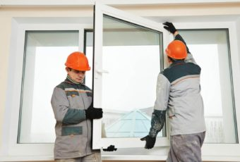 Installation de fenêtres PVC